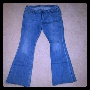 "Old Navy ""The Diva""- Jeans. Size 14 Reg- EUC"